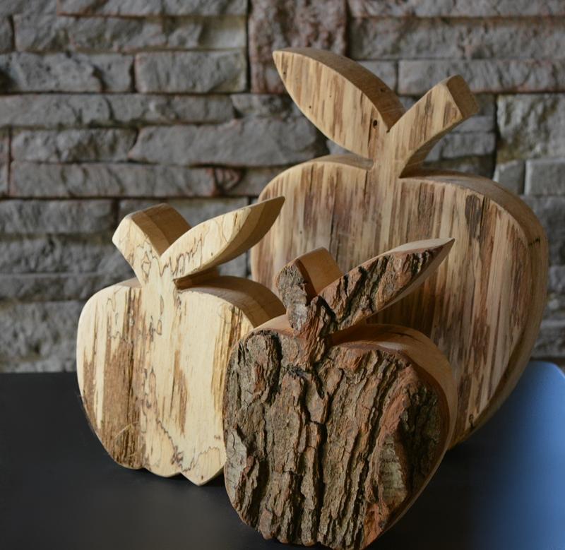 Apfel, rustikal, Gr. 1, Holzdeko | HOLZLIEBE-ISERLOHN | Geschenke ...
