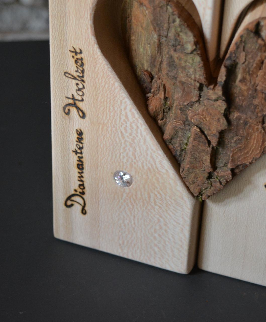 Sonderanfertigungen holzdeko preis auf anfrage for Holz dekoration hochzeit