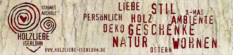 Wohnaccessoires aus holz selber machen  HOLZLIEBE-ISERLOHN | Holzdeko - Personalisierte Geschenke aus Holz ...